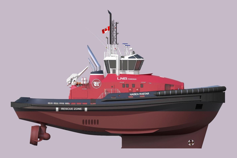 Rendering of the RAstar 4000 DF